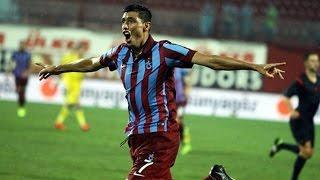 Oscar Cardozo'nun Trabzonspor Formasıyla İlk Golü