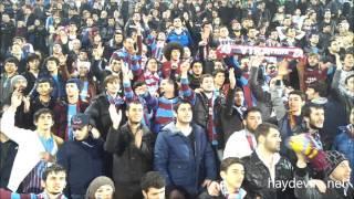 Vira | Trabzonspor 4-1 Gaziantepspor / Tribün Görüntüleri