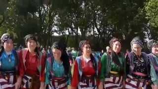 Karadeniz`liler Yayla Senligi, Almanya Oberhausen 22.06.2014. Cesi, Murat Kumas. Kemence Horon.