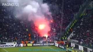 Trabzonspor Taraftarları Juventus Arena'da (Trabzonspor Ultras)