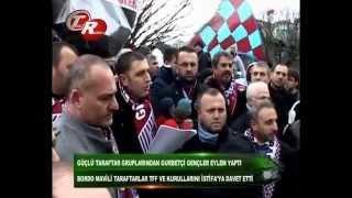 Trabzonspor Taraftar Grubu Gurbetçi Gençler TFF Binasına Yürüdü