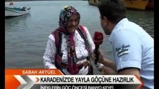 Karadeniz'de Yayla Göçü Zamanı.wmv