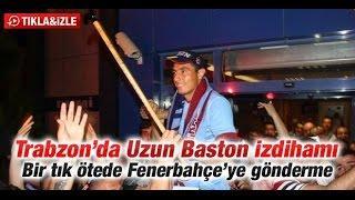 Yeni Transfer Oscar Cardozo Trabzon Havalimanı'nda